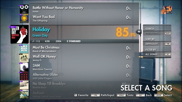"Скриншот №3 к Rocksmith® 2014 Edition – Remastered – Green Day - ""Holiday"""