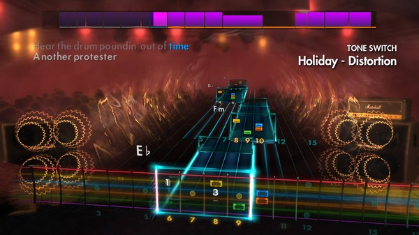 "Скриншот №5 к Rocksmith® 2014 Edition – Remastered – Green Day - ""Holiday"""