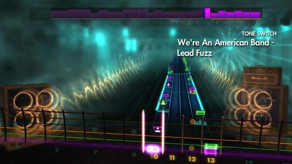 "Скриншот №1 к Rocksmith® 2014 Edition – Remastered – Grand Funk Railroad - ""Were An American Band"""
