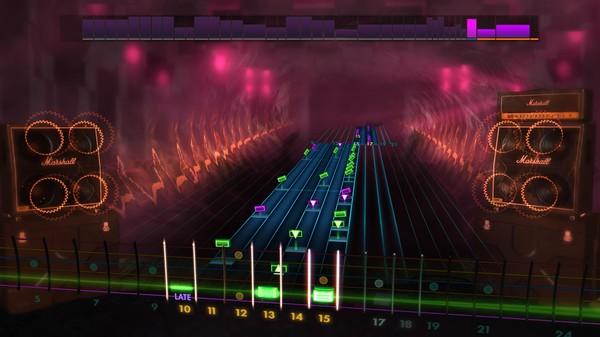 Скриншот №5 к Rocksmith® 2014 Edition – Remastered – Trivium Song Pack