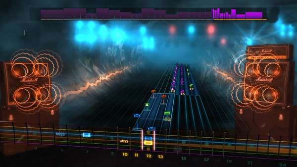 Скриншот №2 к Rocksmith® 2014 Edition – Remastered – Trivium Song Pack