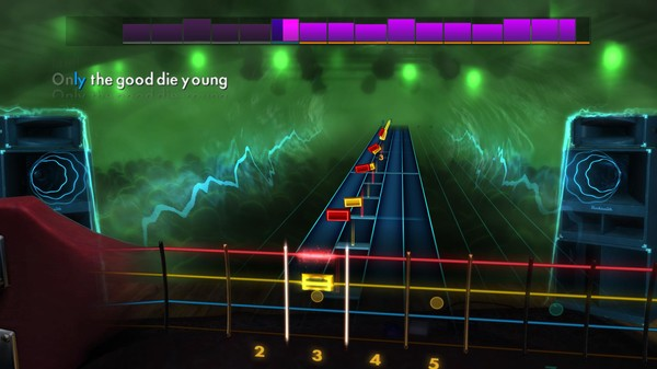 """Скриншот №3 к Rocksmith® 2014 Edition – Remastered – Billy Joel - """"Only the Good Die Young"""""""