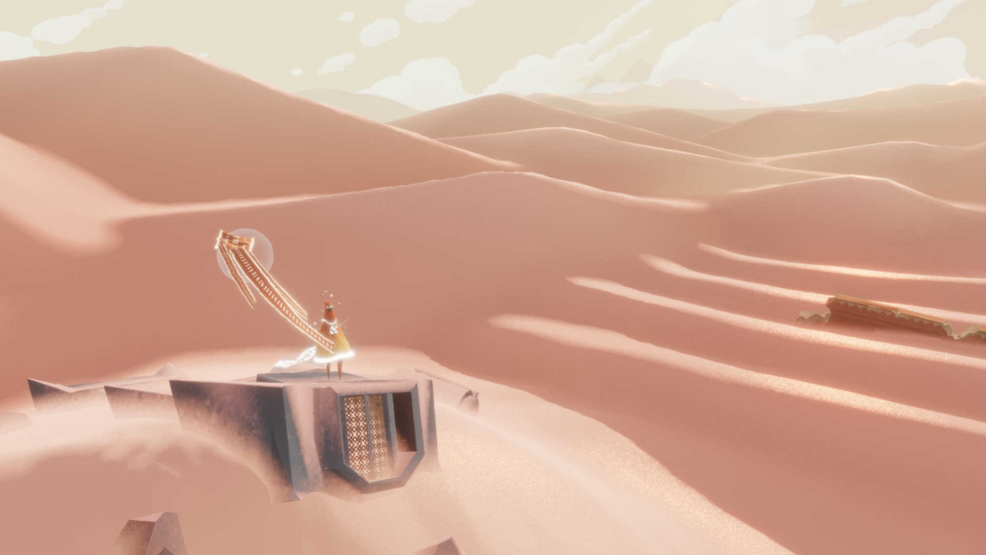 Marty Sliva Snapshot Journey playing with a stranger Thatgamecompany adventure