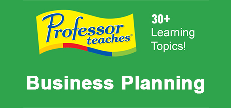 Professor Teaches Business Planning
