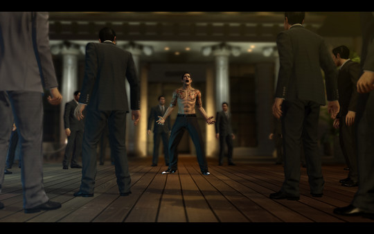 Screenshot of Yakuza 0