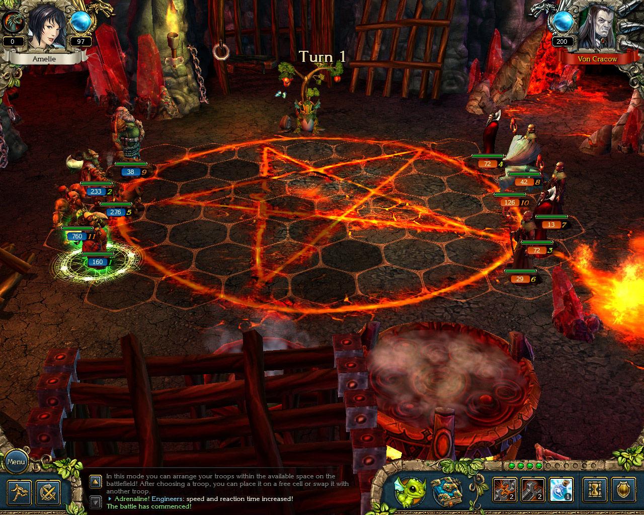 King's Bounty: Crossworlds GOTY screenshot 1