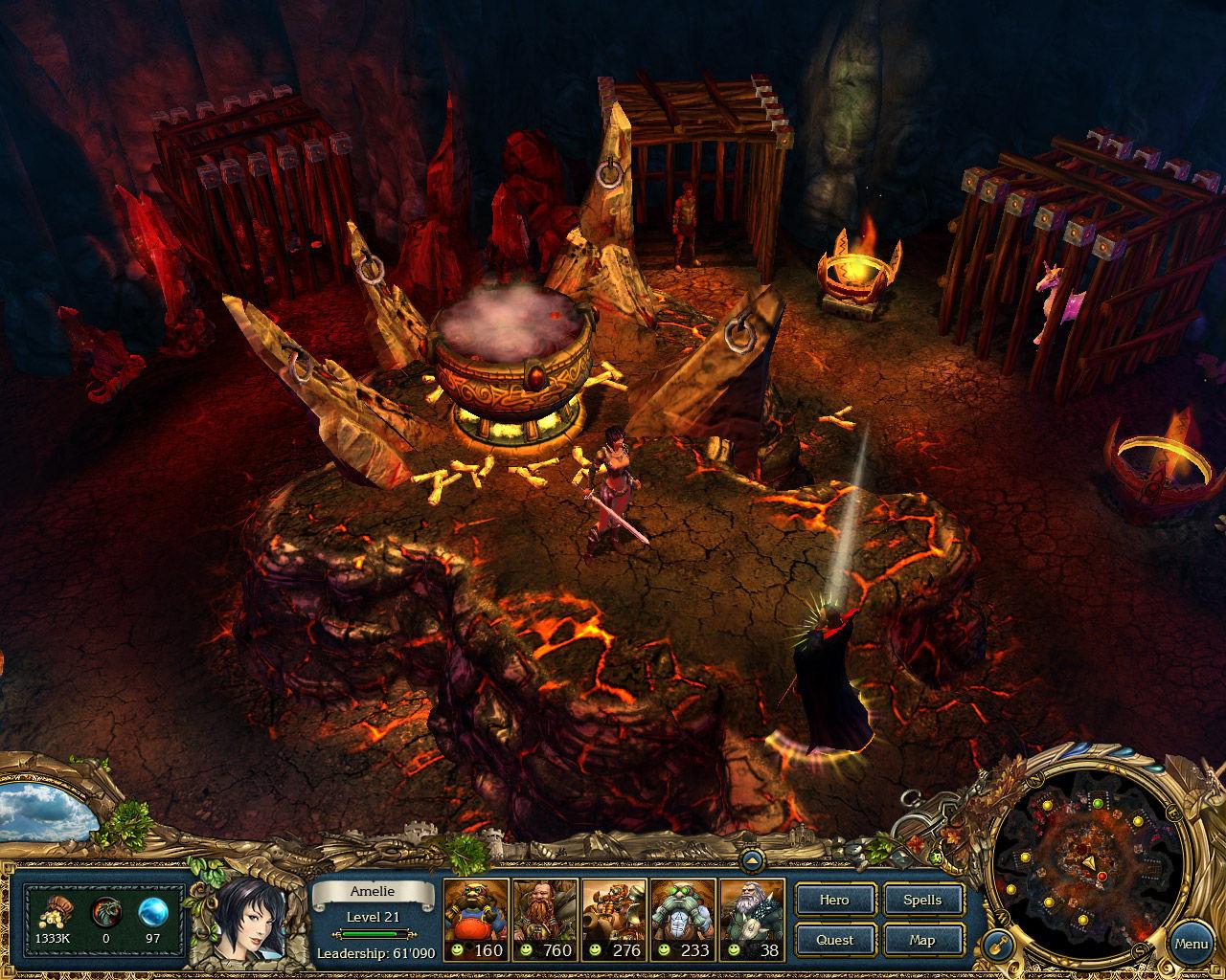 King's Bounty: Crossworlds GOTY screenshot 2