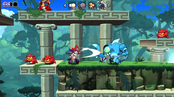 Скриншот №3 к Shantae Pirate Queens Quest