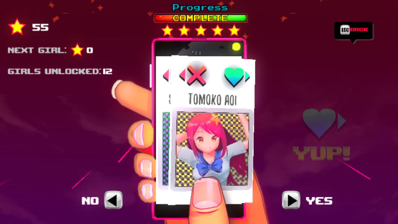 Adult waifu dating sim