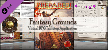 Fantasy Grounds - Prepared! One Shot Adventures (5E)