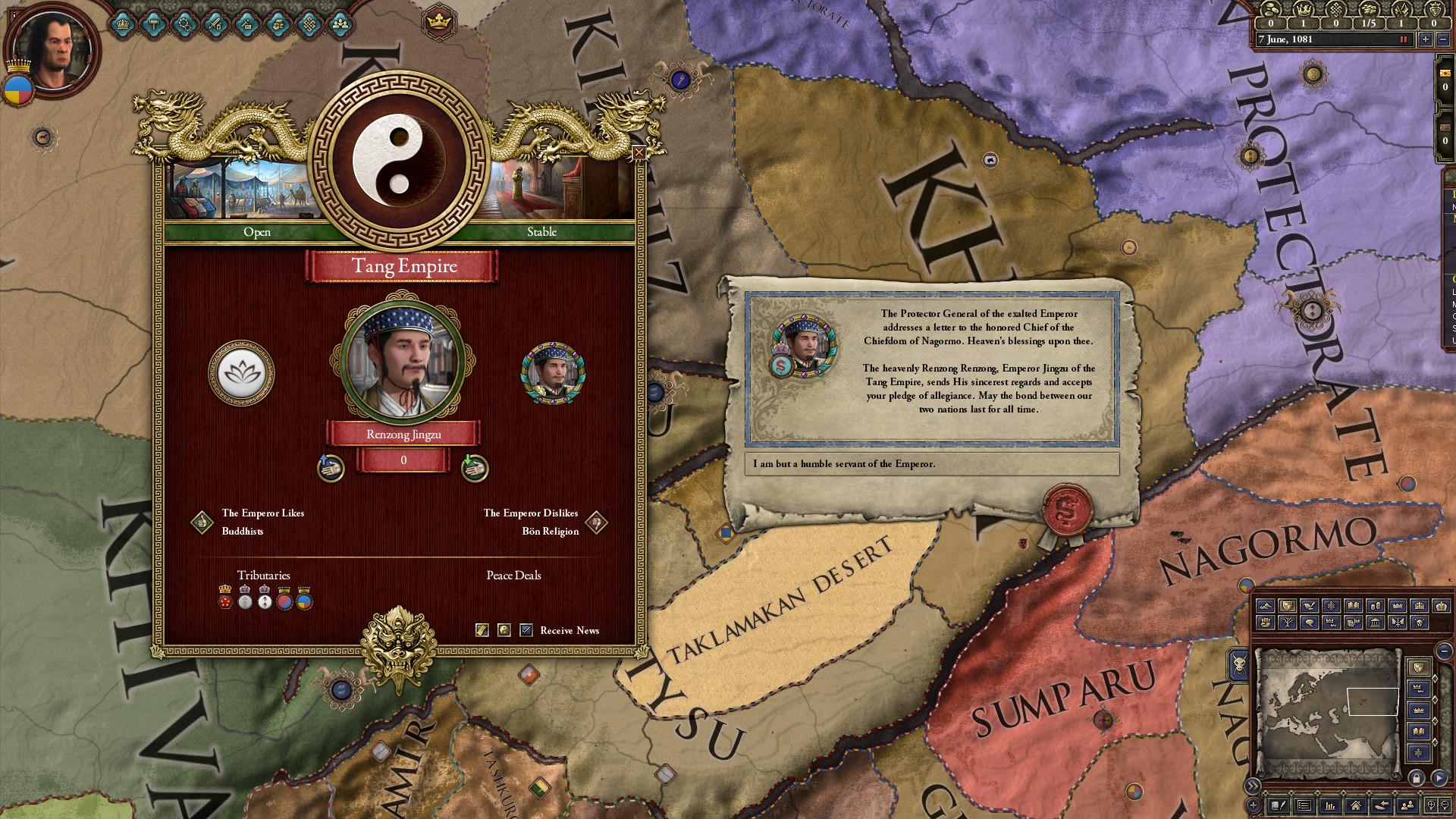 Expansion - Crusader Kings II: Jade Dragon on Steam