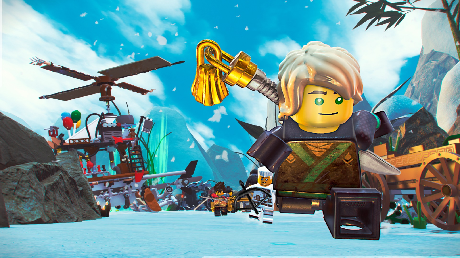 The LEGO NINJAGO Movie Video Game [RePack] [2017|Rus|Eng]
