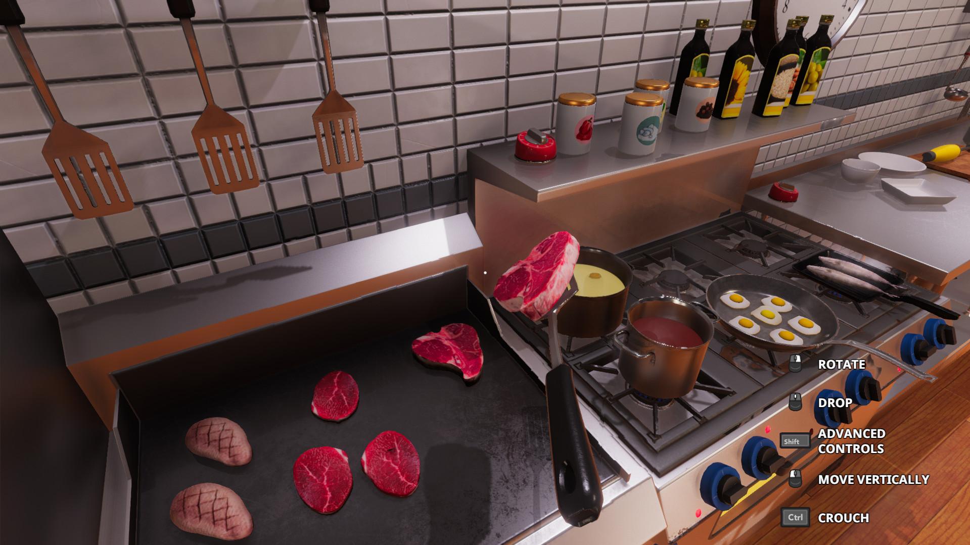 Cooking Simulator [RePack] [2019 Rus Eng Multi12]