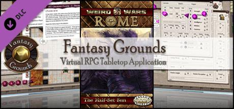 Fantasy Grounds - Weird Wars Rome: Half-Set Sun (Savage Worlds)