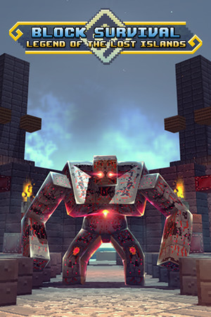 Block Survival: Legend of the Lost Islands poster image on Steam Backlog