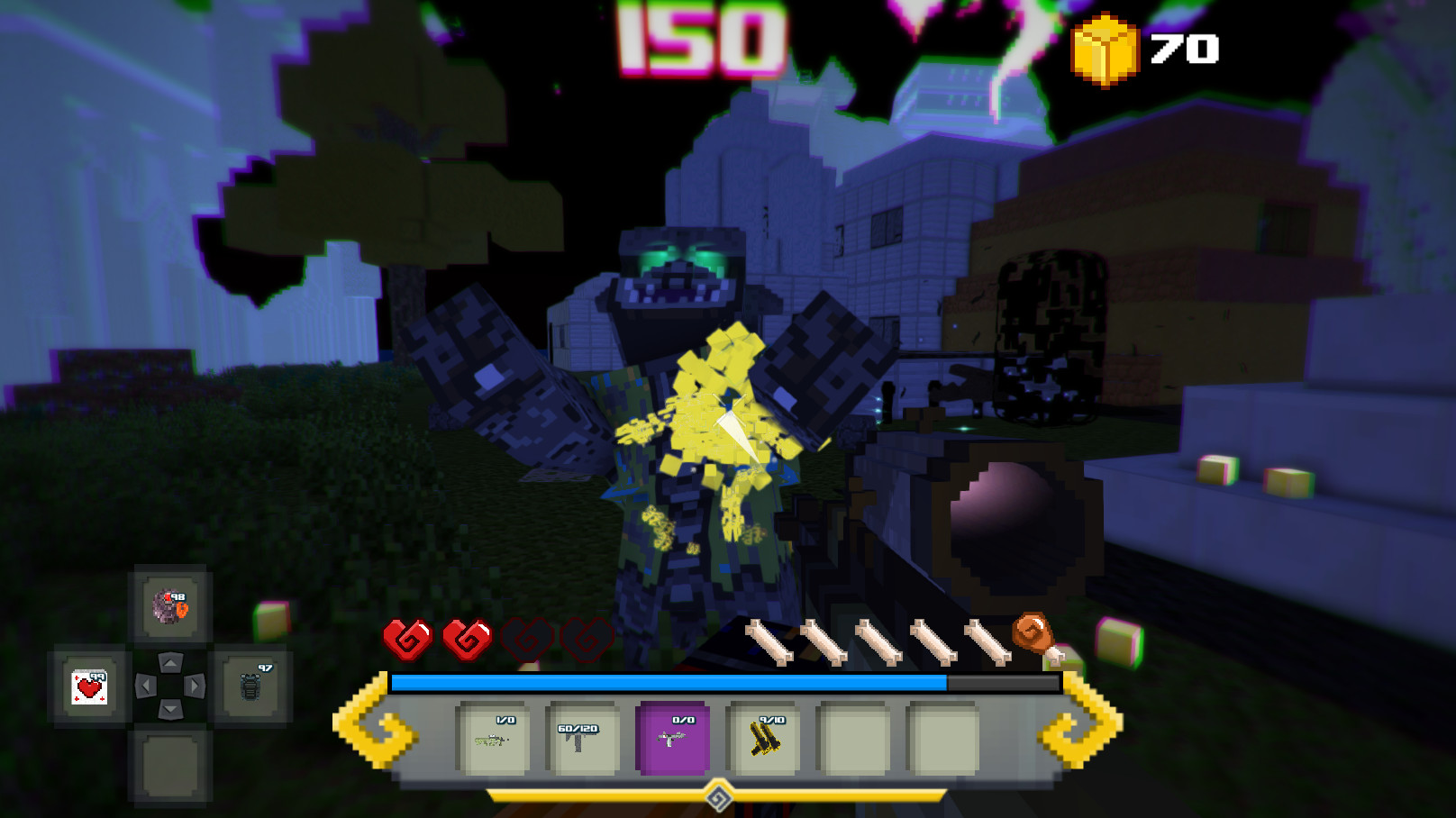 Block Survival: Legend of the Lost Islands Screenshot 1