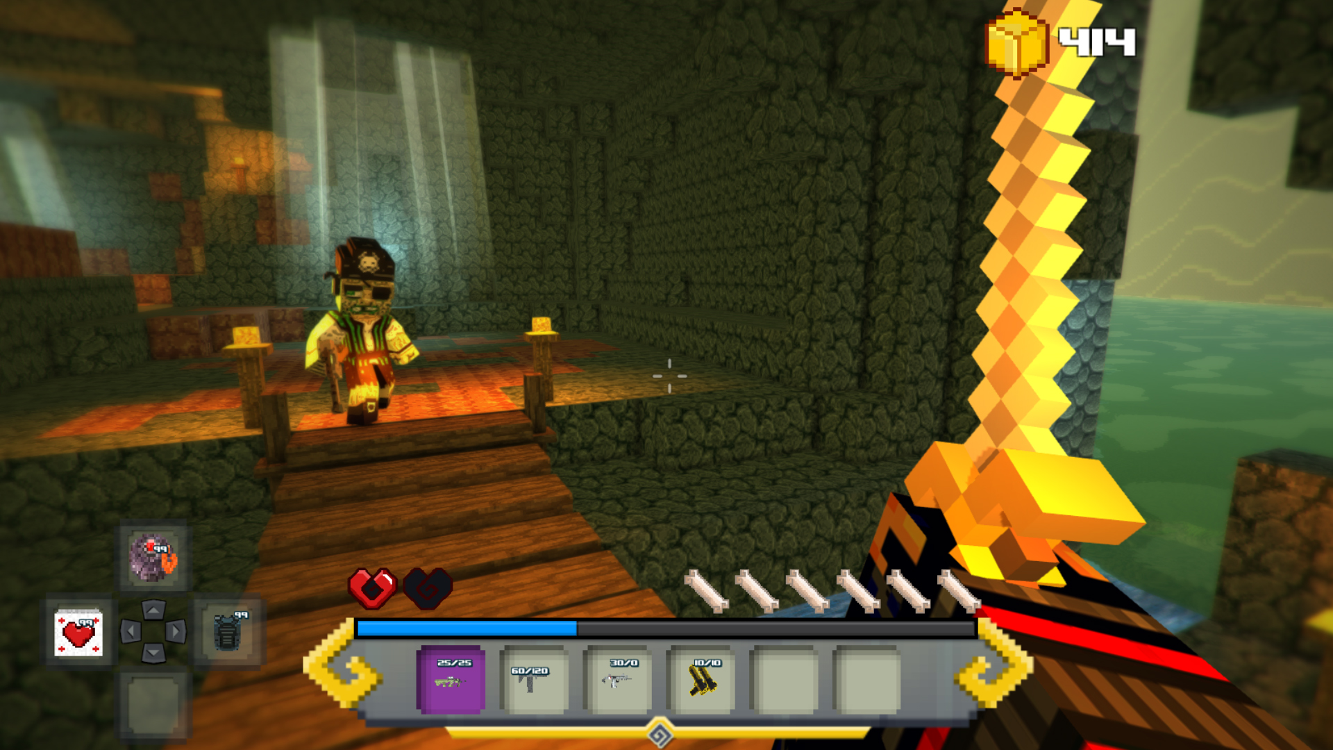 Block Survival: Legend of the Lost Islands Screenshot 3