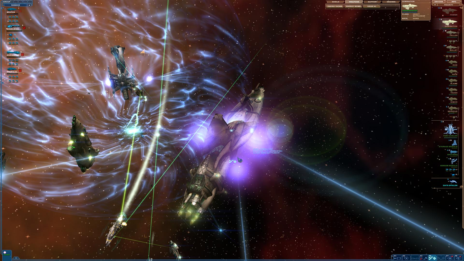 Nexus: The Jupiter Incident Screenshot 3