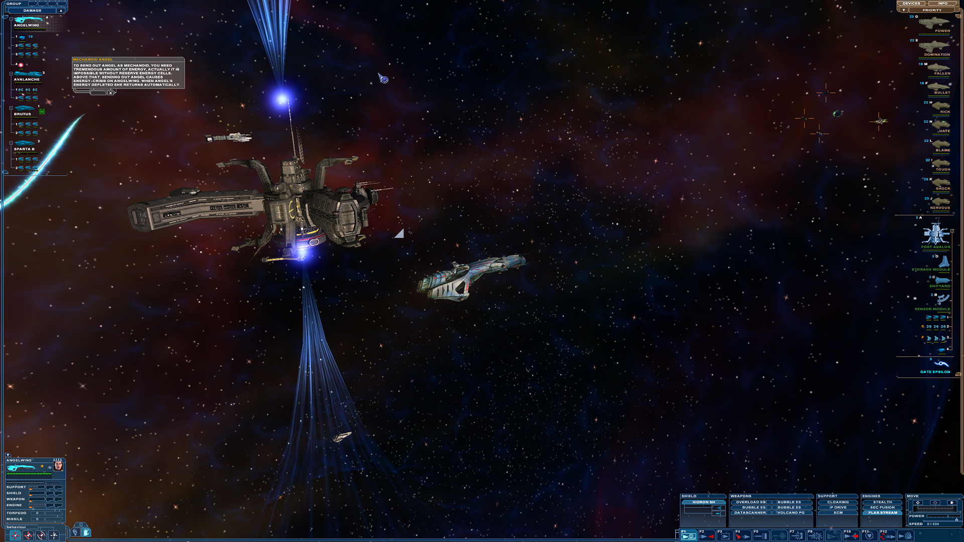 Nexus: The Jupiter Incident Screenshot 1