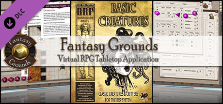 Fantasy Grounds - Basic Creatures (BRP)