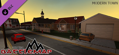 Virtual Battlemap DLC - Modern Town