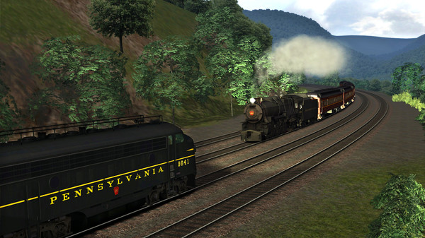 скриншот TS Marketplace: Horseshoe Curve Scenario Pack 01 Add-On 4
