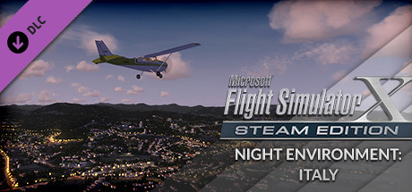 FSX Steam Edition: Night Environment Italy Add-On
