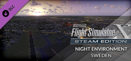FSX Steam Edition: Night Environment: Sweden Add-On