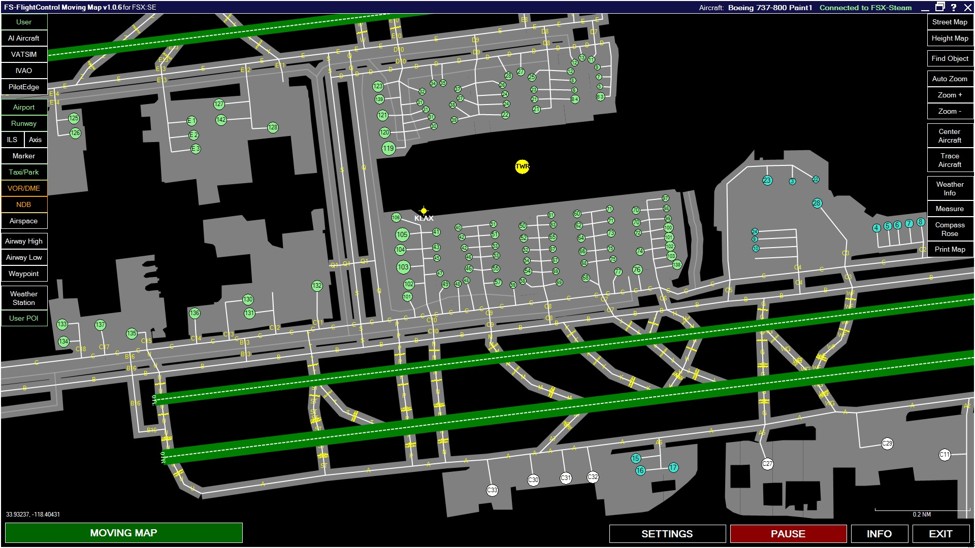 FSX Steam Edition: Moving Map Add-On