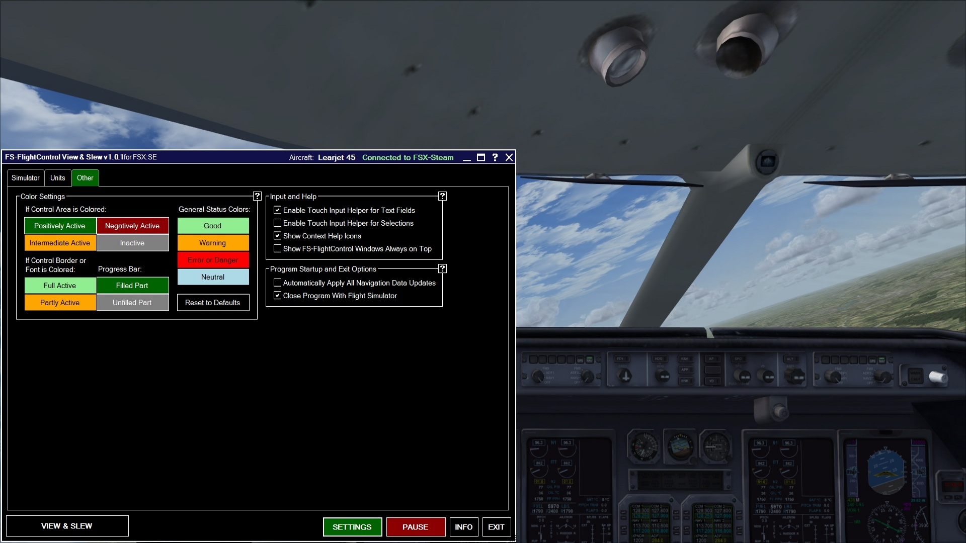 FSX Steam Edition: View & Slew Add-On