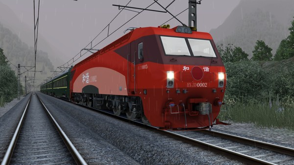 скриншот TS Marketplace: HXD3D Electric Locomotive Add-On 5