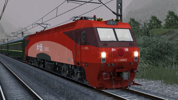 скриншот TS Marketplace: HXD3D Electric Locomotive Add-On 2