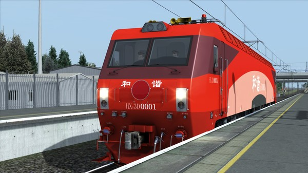 скриншот TS Marketplace: HXD3D Electric Locomotive Add-On 0