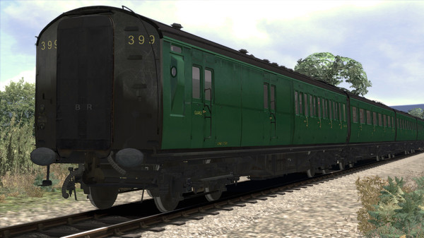 скриншот TS Marketplace: Maunsell 59ft Low Window Corridor Coach Pack BR Green 1