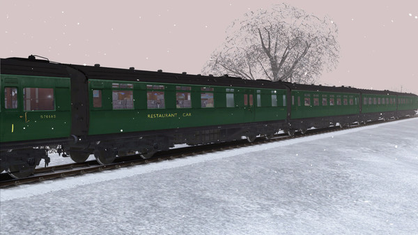 скриншот TS Marketplace: Maunsell 59ft Low Window Corridor Coach Pack BR Green 4