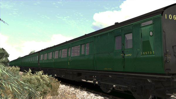 скриншот TS Marketplace: Maunsell 59ft Low Window Corridor Coach Pack BR Green 2