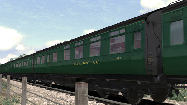 скриншот TS Marketplace: Maunsell 59ft Low Window Corridor Coach Pack BR Green 3