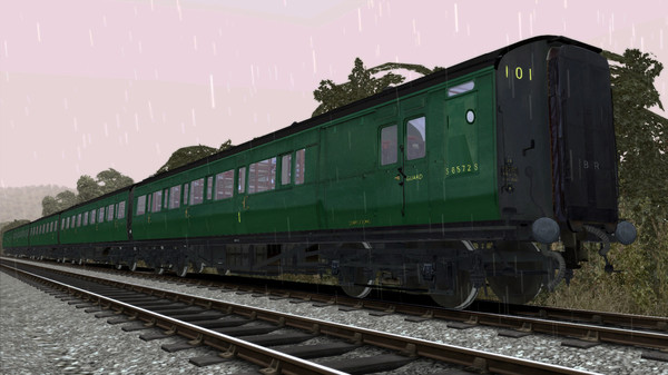 скриншот TS Marketplace: Maunsell 59ft Low Window Corridor Coach Pack BR Green 5
