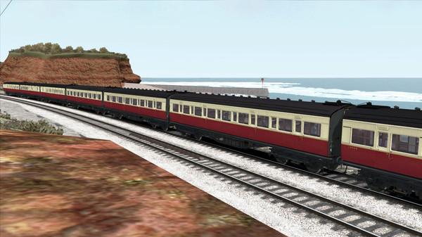 скриншот TS Marketplace: Maunsell 59ft Low Window Corridor Coach Pack Crimson Cream 2