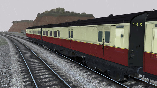 скриншот TS Marketplace: Maunsell 59ft Low Window Corridor Coach Pack Crimson Cream 4