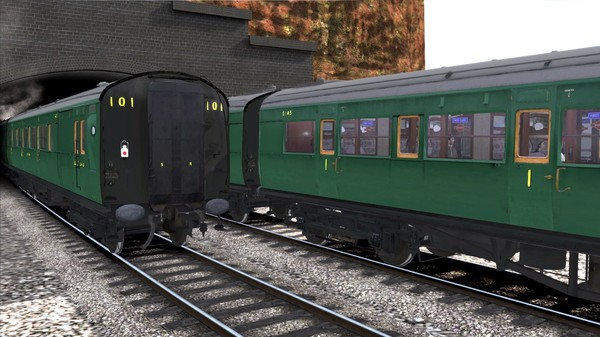 скриншот TS Marketplace: Maunsell 59ft Low Window Corridor Coach Pack Southern Malachite Green 5