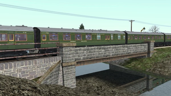 скриншот TS Marketplace: Maunsell 59ft Low Window Corridor Coach Pack Southern Olive Green 0