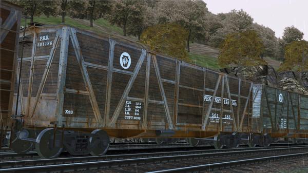 скриншот TS Marketplace: PRR X23 Boxcar Wagon Pack Add-On 0