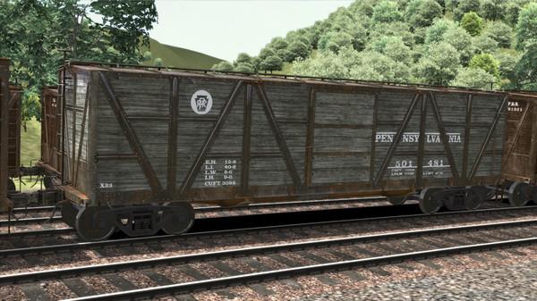 скриншот TS Marketplace: PRR X23 Boxcar Wagon Pack Add-On 2