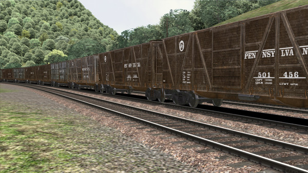 скриншот TS Marketplace: PRR X23 Boxcar Wagon Pack Add-On 1