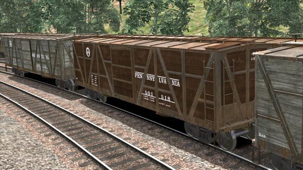 скриншот TS Marketplace: PRR X23 Boxcar Wagon Pack Add-On 5