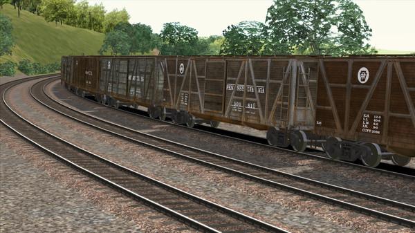 скриншот TS Marketplace: PRR X23 Boxcar Wagon Pack Add-On 4