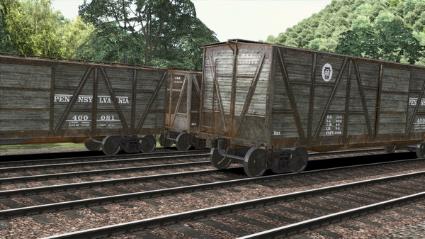 скриншот TS Marketplace: PRR X23 Boxcar Wagon Pack Add-On 3