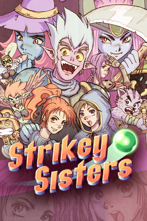 Strikey Sisters poster image on Steam Backlog