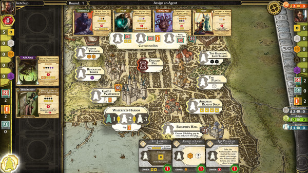 D&D Lords of Waterdeep 1